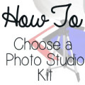 how to choose a table top photo studio kit