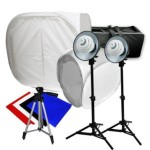 "The LimoStudio Photography Studio Kit  comes with both a 12"" and a 30"" light tent."
