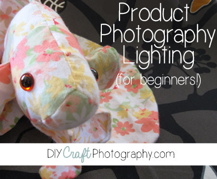 product photography lighting tips for beginners