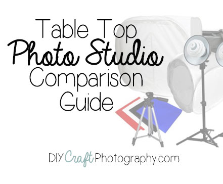 Table top photo studio comparison chart & reviews