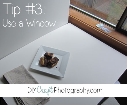 product photography lighting tips use a window