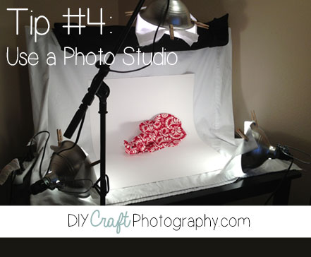 product photography lighting tips use a photo studio