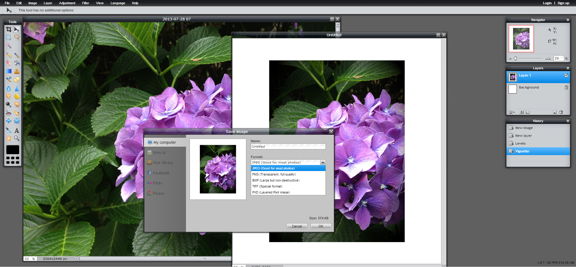 Photo editing apps free online youtube