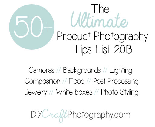 ultimate product photography tips