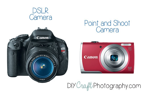 DSLR camera vs Point and Shoot Camera