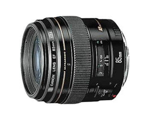 DSLR advantage: lens variety! This is a Canon EF 85mm medium telephoto lens.