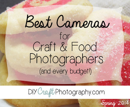 The Best Cameras for Craft & Food Photographers. In this monster length post, DIYCraftPhotography picks a best camera for every budget.