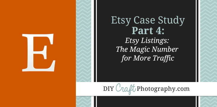 What's the magic number? Here's how to get more Etsy traffic by (smartly!) adding more listings to you shop.