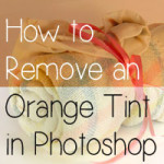 remove orange tint in photoshop tutorial