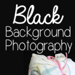 black background photography